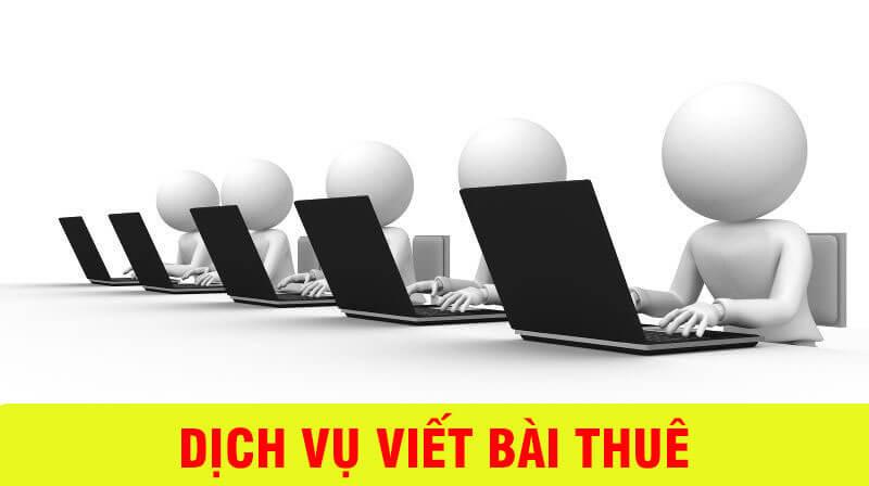 Dịch vụ viết bài SEO tại Hà Nội - nội dung chất, đơn hàng tới tấp