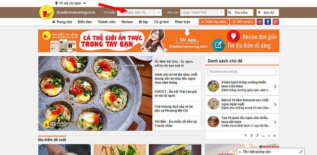 Bảng giá quảng cáo Diadiemanuong.com cập nhất mới nhất
