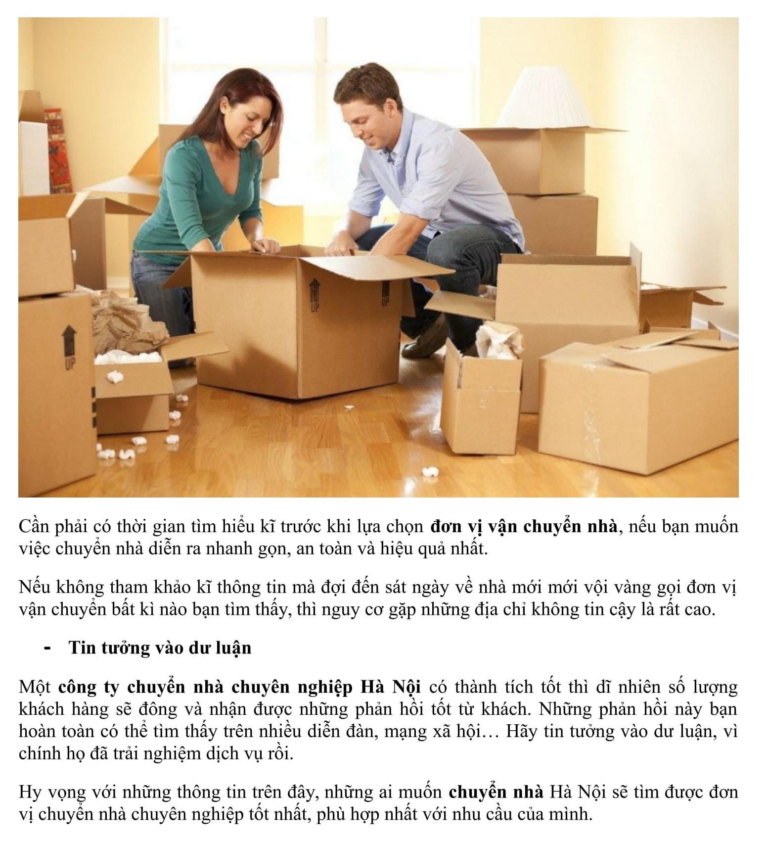 Viết bài chuẩn SEO mẫu lĩnh vực chuyển nhà, chuyển văn phòng, taxi tải,....