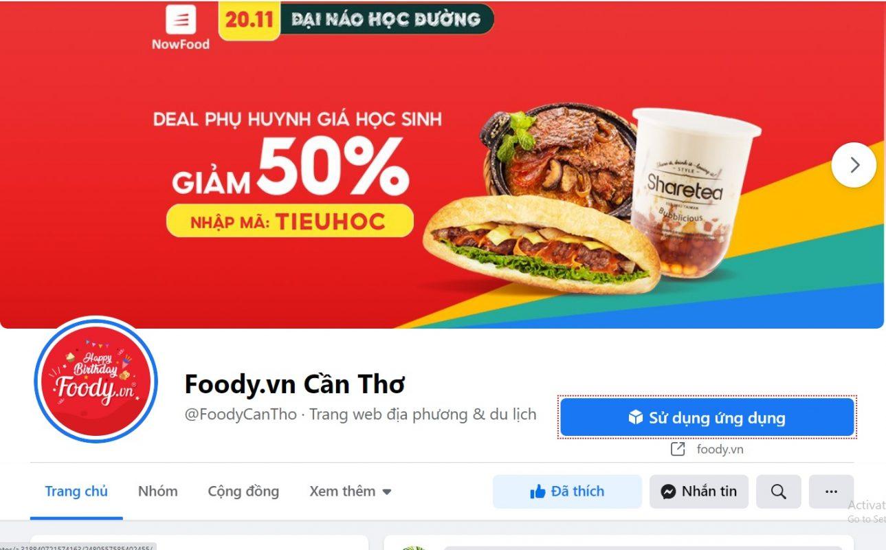 Foody Cần Thơ: cách liên hệ đăng ký quảng cáo, bảng giá chi tiết