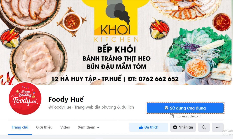 Foody Huế: Bảng giá quảng cáo, cách liên hệ đăng ký nhanh nhất